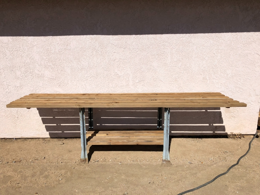Bonsai Display Bench